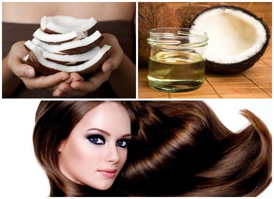 Top 3 măști pe bază de ulei de cocos pentru un păr ca la salon