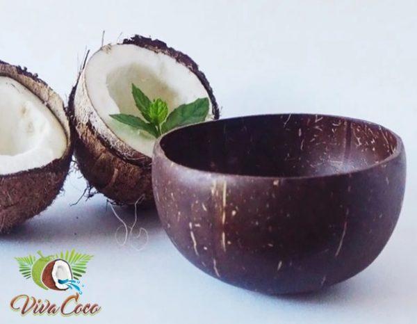 Bol din cocos eco friendly lucrat manual